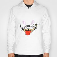 cheshire Hoodies featuring Cheshire by Jorge Daszkal