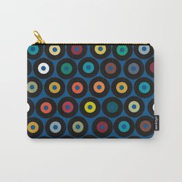 VINYL blue Carry-All Pouch