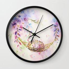 Wisteria Dream Wall Clock