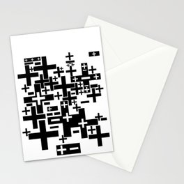 PLUS/MINUS Stationery Cards