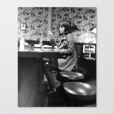 Late Night Diner Canvas Print