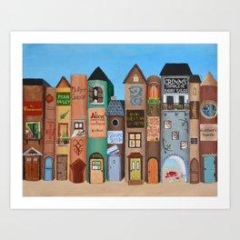 Wee Folk Lane Art Print