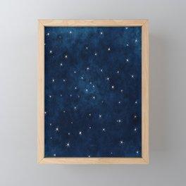 Whispers in the Galaxy Framed Mini Art Print
