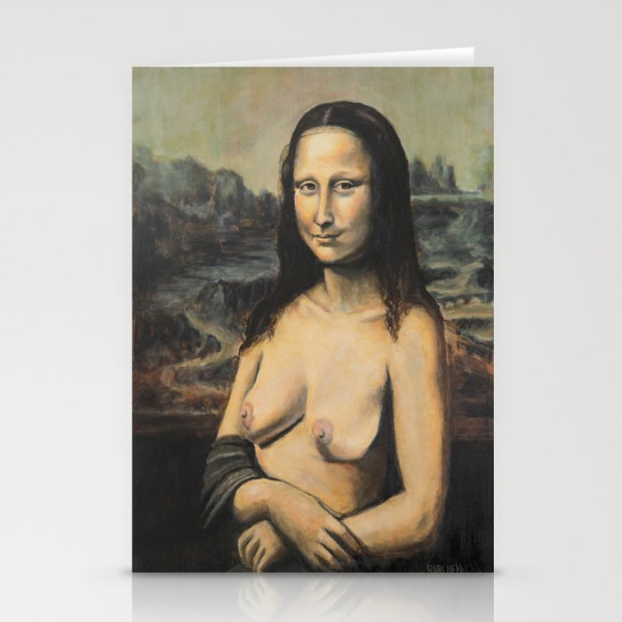Moaner Lisa Stationery Cards