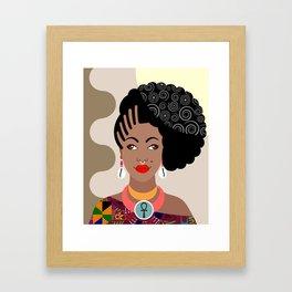 African Queen IV Framed Art Print