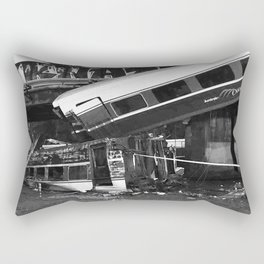 Amtrak Train Rectangular Pillow