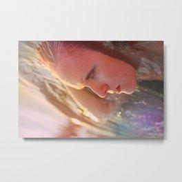 Rainbow Waters Metal Print