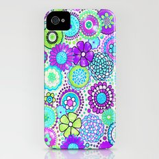 flowers Slim Case iPhone (4, 4s)