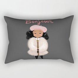 Bonjour! Rectangular Pillow