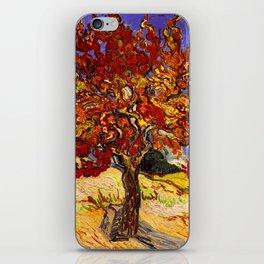 Vincent Van Gogh Mulberry Tree iPhone Skin