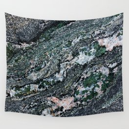 Turquoise Waves Wall Tapestry