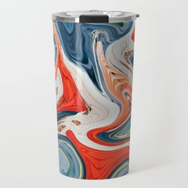 Crashing Cars Travel Mug