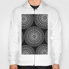 Geometries in white. Hoody