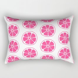 Pink Orange Rectangular Pillow