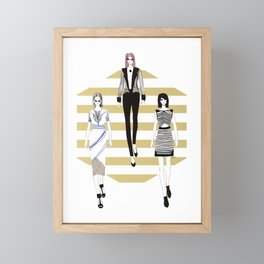 Fashionary 11 Framed Mini Art Print