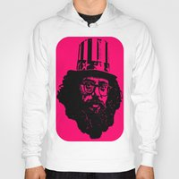 literature Hoodies featuring Outlaws of Literature (Allen Ginsberg) by Silvio Ledbetter