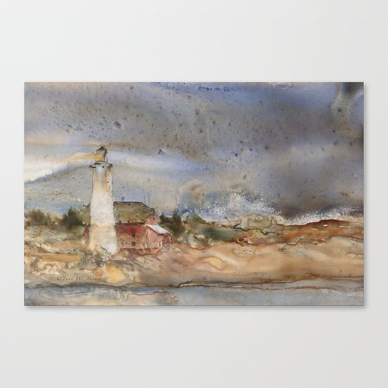 Menagerie Island Lighthouse Canvas Print