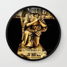 Kneeling Angel Wall Clock