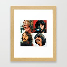 Fab Four Fan Art - Let It Be Watercolor Painting Framed Art Print
