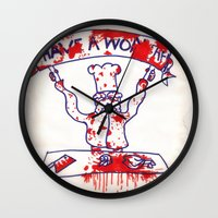 swedish Wall Clocks featuring Swedish Chef Unrated by Jussi Lovewell