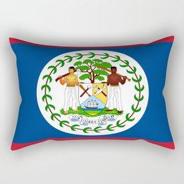 flag of belize-Belice, Belizean,Belize City,beliceno,Belmopan Rectangular Pillow