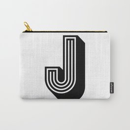 Letter J Carry-All Pouch