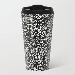 Surreal pattern Travel Mug