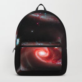 Galaxy Rose Red Backpack