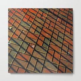 Brickline Metal Print