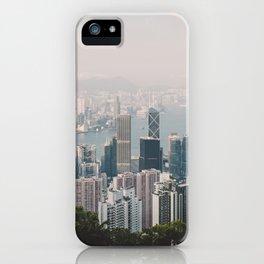 Hongkong skyline 14 iPhone Case