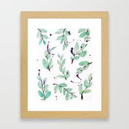 blazz studios: Spring Twigs Framed Art Print