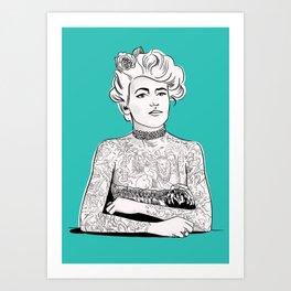 Maud Stevens Wagner Art Print