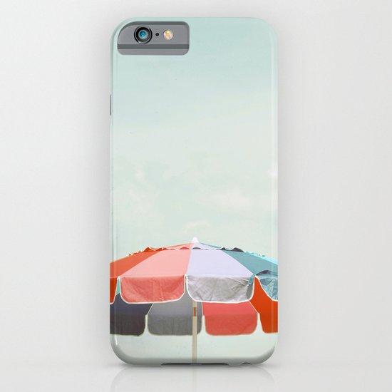 beach umbrella iPhone & iPod Case