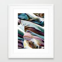 native Framed Art Prints featuring NATIVE by Adam Röndo