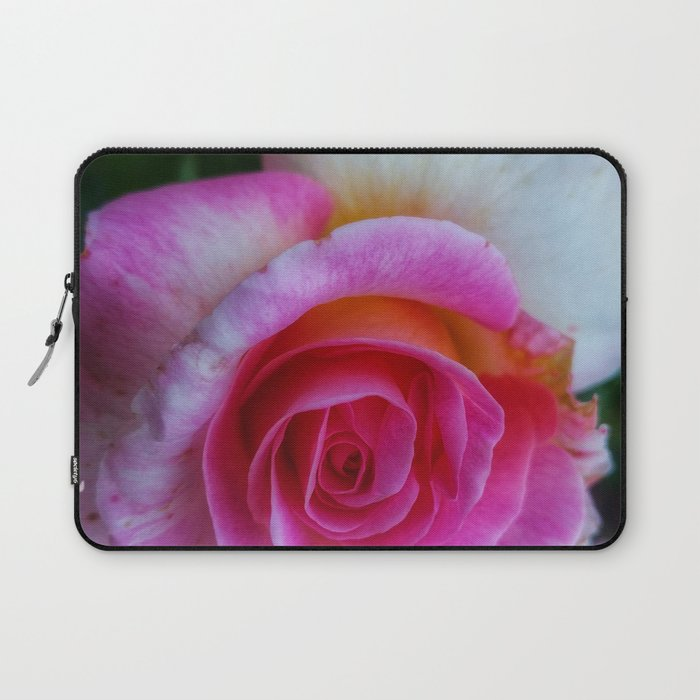Spiral Rose Laptop Sleeve