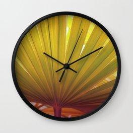 Plm leave Wall Clock
