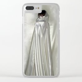 """say no to patriarchy / """"the niqāb"""" Clear iPhone Case"""