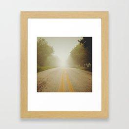 Infinity road! Framed Art Print