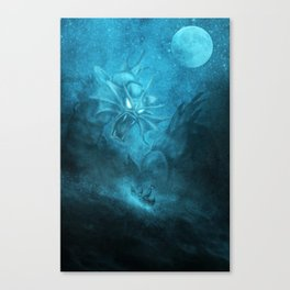 Gyarados Attacking a Pirate Ship Canvas Print