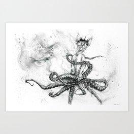 Octopuss Art Print