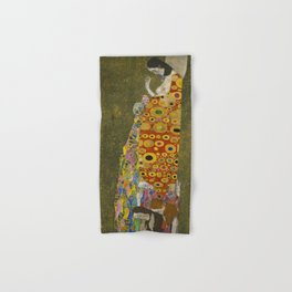 Gustav Klimt - Hope II Hand & Bath Towel