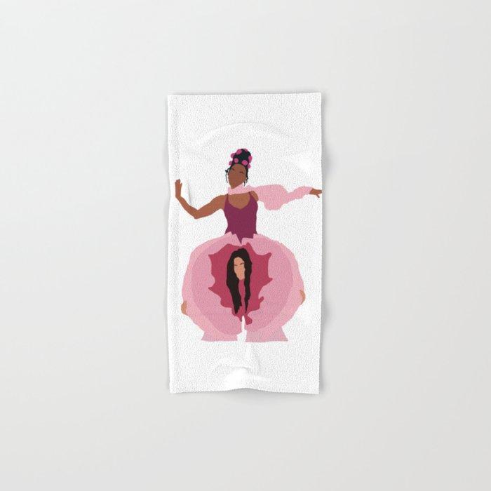Pynk Minimalist: Janelle Monae & Tessa Thompson Hand & Bath Towel
