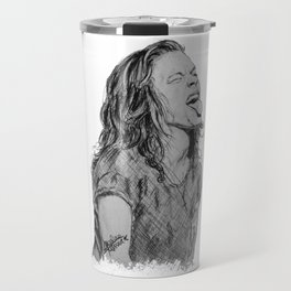 Harry Styles with tongue out Travel Mug