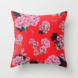 CLARISSA PRINT Throw Pillow