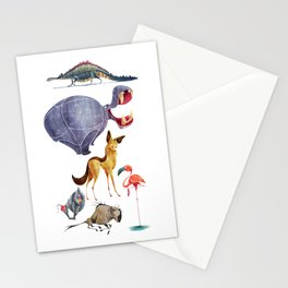 African animals 3 Stationery Cards