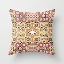Bubblegum Hypnosis Throw Pillow
