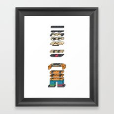 LEGO MAN  Framed Art Print