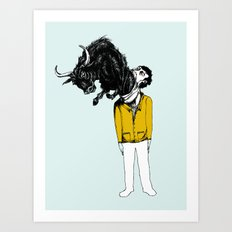 what is likely to happen when one is full of bull Art Print