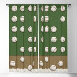 Balls On Field Blackout Curtain