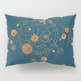 Lotus pool geometry Pillow Sham